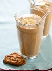 biscoff banana milkshake