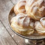 Cannoli Cream Puffs - Seasons and Suppers