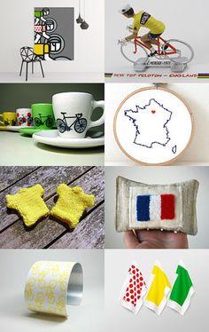 Celebrating Le Tour de France!  Please follow us @ http://www.pinterest.com/wocycling