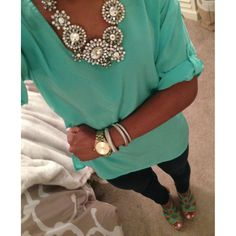 Mint to be ootd
