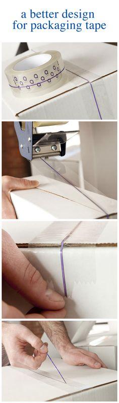 cool packaging tape