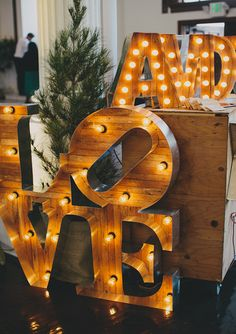 party signage   photo by Rad and in Love   100 Layer Cake