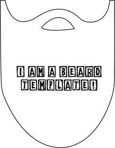 make your own santa beard...