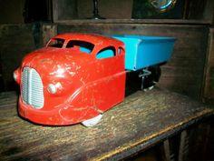 Vintage+Wyandotte+Toy+Dump+Truck+1940s+by+RedRiverAntiques+on+Etsy,+$60.00