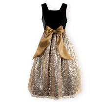 Glittering Gold - Girls' Special Occasion Dresses, Boys' Special Occasion Outfits