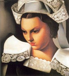 Tamara de Lempicka -The Breton Girl :  Beautiful