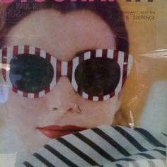 Vintage Fashion Magazine Cover #photography