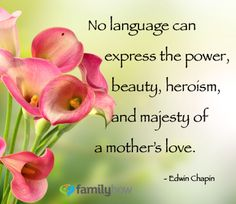 #Mother's love