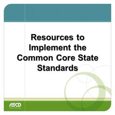 Need help with common core implementation? These resources can help.