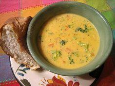 Panera Broccoli and Cheese Soup