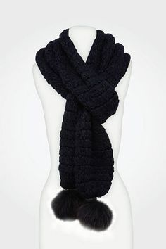 Monique Scarf in Navy, Fall 2012: Rendez-vous
