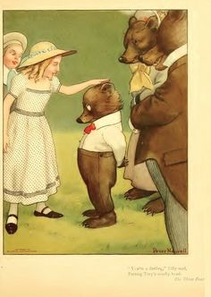 """""""Three Bears"""", illustrated by Peter Newell"""