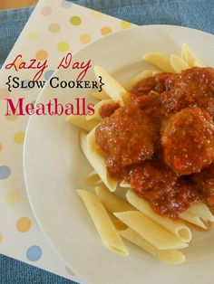 Yummy, easy crockpot meatballs