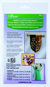 Emblem Brooch Beading Loom Kit
