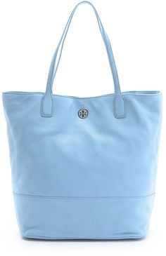 Tory Burch Michelle Tote in Blue (chambray) - Lyst