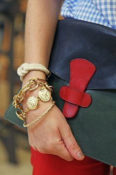 anchors, bracelets, accessori, bag, clutch