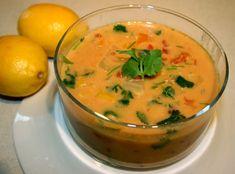 Creamy Coconut Lentil Soup Recipe - http://www.deliciousobsessions.com/2011/10/creamy-coconut-lentil-soup-recipe/