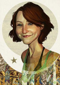 Esther Earl by Audrey Benjaminsen