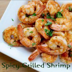 Spicy Grilled Shrimp #grilling #shrimp #easyrecipe #MyAllrecipes