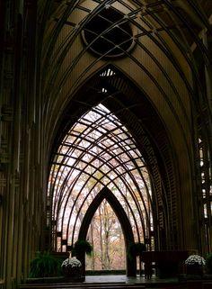 Mildred Cooper Memorial Chapel by E Fay Jones - Bella Vista, Arkansas