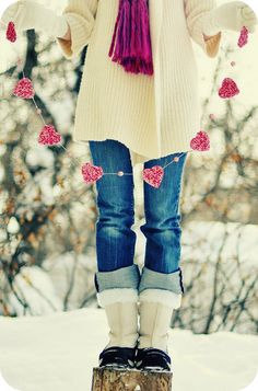 winter time #hearts