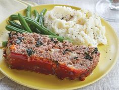 food recipes, dinner, meatloaf, main dish, lighten, healthi food, meat loaf, meat recip, american main