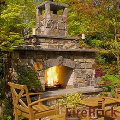 FireRock Fireplace Kit