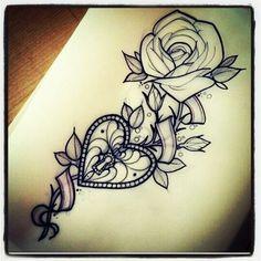 I like the simple rose