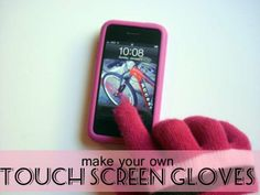 Make Your Own Touch Screen Gloves