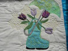 Welcome spring quilt