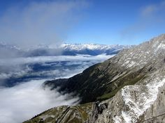 Above the clouds in the Alps -- Innsbruck, Austria