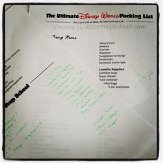 New Nostalgia: The Ultimate #Disney World Packing List and Finding Peace on a Family Vacation