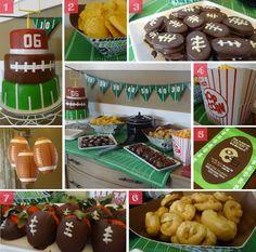 Football Themed Birthday Party (CAKE)