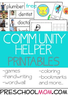 Community Helper Printables