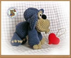 CROCHET - crochet monkey
