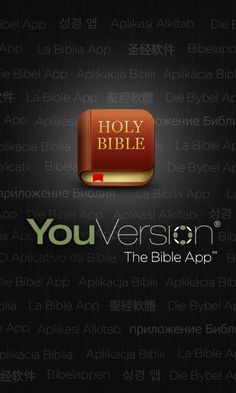 This is a great way to read the Bible on your lunch break, on the subway, on road trips or anything really. It also has just about every version. I prefer NASB.