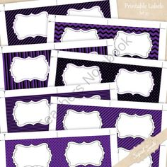 Editable Labels Set 35 from DigitalSwirls on TeachersNotebook.com -  (7 pages)  - Editable Labels Set 35