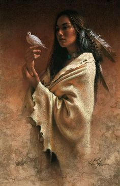When man moves away from nature his heart becomes hard. Art-Lee Bogle