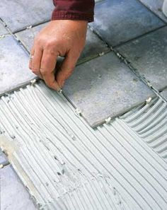 DIY...Tile Bathroom Floor...Better Homes and Gardens
