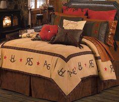 Lone star western decor-cowboy room