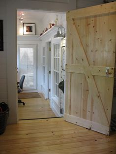 American Barn Homes designs and remodels - I want this door for every ...