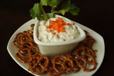 Easy veggie dip with greek yogurt