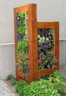 vertical garden screen