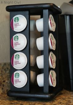 Recycled spice holder