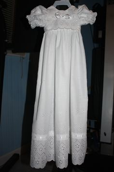 Babys Christening Gown.