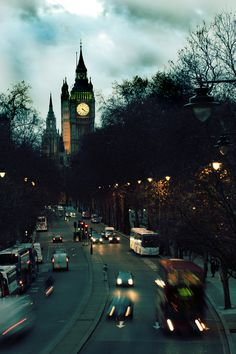 #London at night