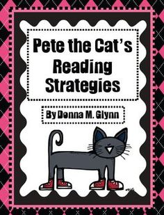 These Pete the Cat Reading Strategy posters are sure to get your students interested in becoming better readers.  It will help their comprehension ...