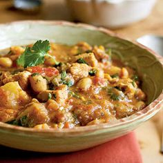 Sweet and Spicy Chicken and White Bean Stew | MyRecipes.com