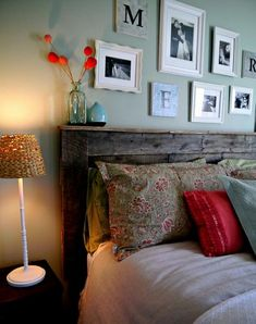 Upcycling – DIY Pallet Headboard. Good overview and good guide..