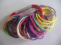 Organizing Ponytail Holders